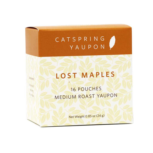 Catspring Yaupon - Lost Maples Medium Roast Tea, 16-Bag