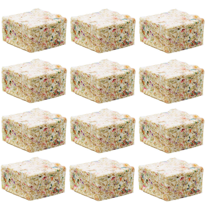 The Crispery - Handmade Marshmallow Rice Crispy Treats, 6oz (Confetti)