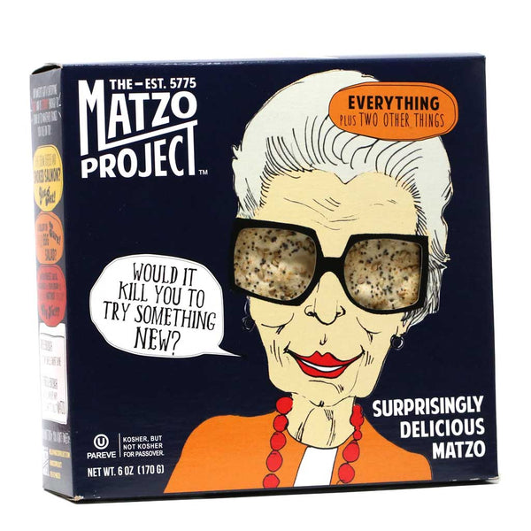 Matzo Project - Matzo Everything Flatbread Crackers, 6oz