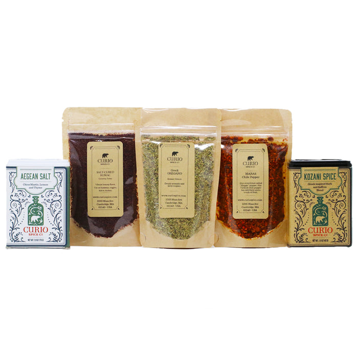 Curio - Mediterranean Pantry Spice Pack