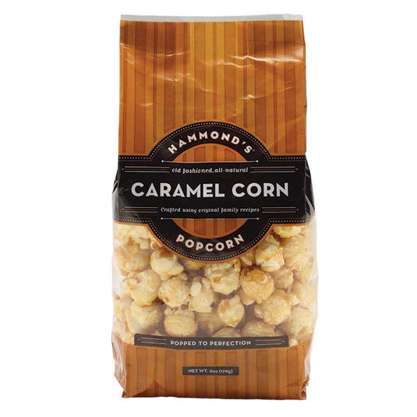 Hammond's Natural Caramel Corn Popcorn, 6oz