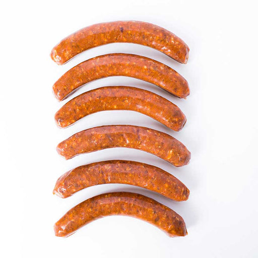 Delices - Lamb Merguez Sausage, 12oz **In-Store Pickup**