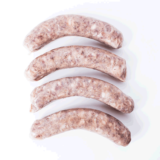All Natural Toulouse Sausage (Great for Cassoulet), 1lb (450g)