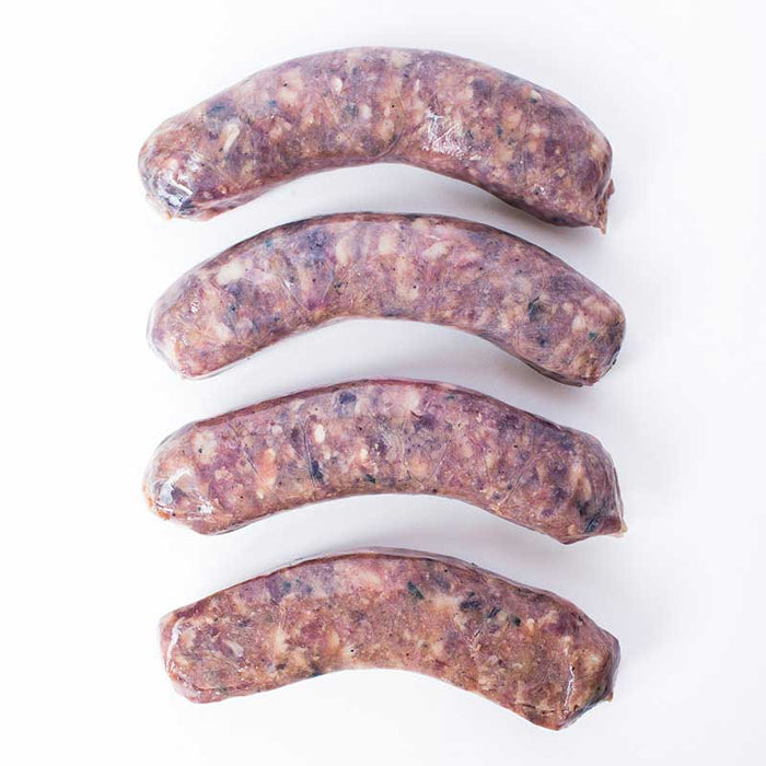 Venison Sausage with Cranberries, 1lb (450g)