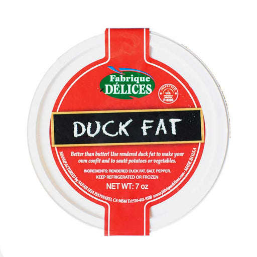 Delices - Rendered Duck Fat, 7oz (Two Pack)