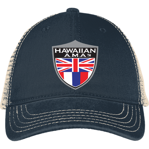 Hawaiian A.M.A Mesh Back Cap - Hawaiian Attitude