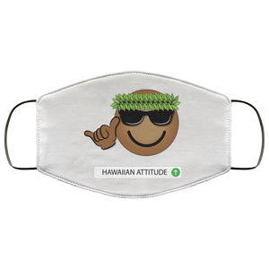 HA Emoji mask - Hawaiian Attitude