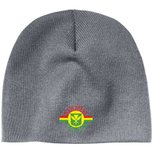 Hawaiian Attitude Sovereign Flag Embroidered Beanie - Hawaiian Attitude
