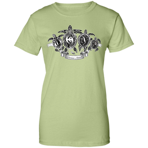 Ohana tat Womens 100% Cotton T-Shirt - Hawaiian Attitude