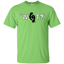 """What?"" on lights S/S T shirt - Hawaiian Attitude"