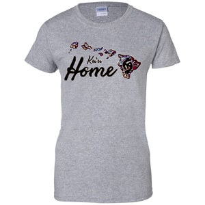 Ku'u Home (My Home)100% Cotton Light T-Shirt - Hawaiian Attitude