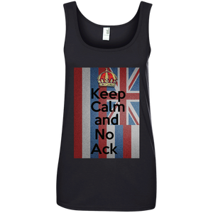 No Ack 100% Ringspun Cotton Tank Top - Hawaiian Attitude