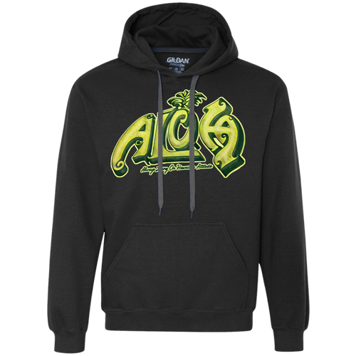 Aloha Pullover Fleece Sweatshirt - Hawaiian Attitude
