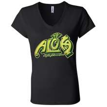 Aloha-Ladies' Jersey V-Neck T-Shirt - Hawaiian Attitude