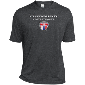 Hawaiian A.M.A Heather Dri-Fit Moisture-Wicking T-Shirt - Hawaiian Attitude
