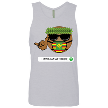 Noko Emoji Men's Cotton Tank - Hawaiian Attitude