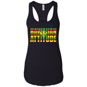 HA Sovereign Ladies Ideal Racerback Tank - Hawaiian Attitude