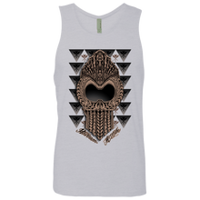 Ikaika Warrior  Men's Cotton Tank - Hawaiian Attitude