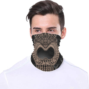 Ikaika Warrior Helmet tube mask - Hawaiian Attitude
