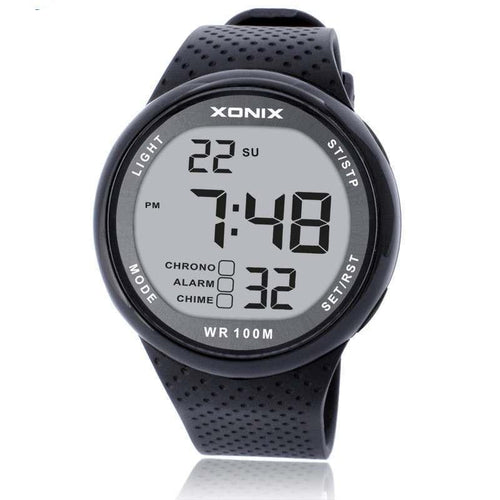 XONIX Fashion Men's Outdoor Fun Digital Sports Swimming/Diving Wristwatch (Waterproof 100m)