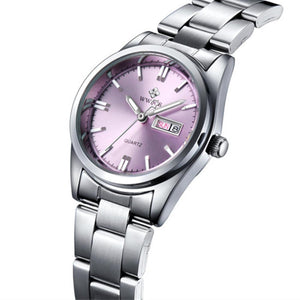 WWOOR Ladies Luxury Casual Quartz Bracelet  Wrist Watch (Waterproof)
