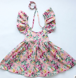 Summer Dress in Peach