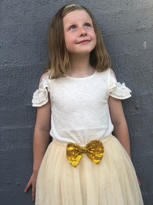 Minnie Tutu in Light Yellow