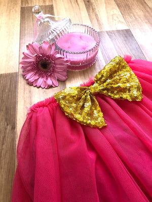 Minnie Tutu in Hot Pink