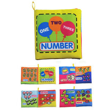 Baby Toys 0-12 Months Intelligence Development Cloth Book - KMAshopstore