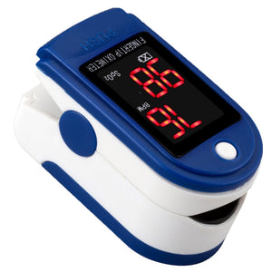Finger Pulse Oximeter Blood Oxygen SpO2 Sports and Aviation Monitor - KMAshopstore