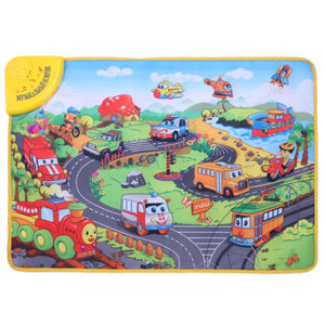 Colorful Russian Music Carpet Kids Traffic Tool Learning Mat Blanket Baby Educational Toys Gift High Quality - KMAshopstore