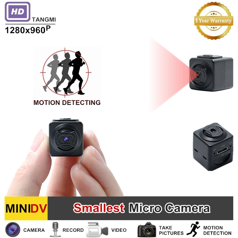 New 960P Super Small Mini Camera HD Camcorder Motion Detection Features Portable Action DV DVR Digital Video Cam SQ8 SQ10 SQ11 - KMAshopstore