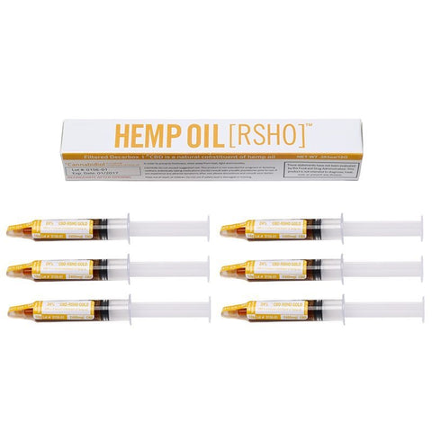 RSHO (GOLD LABEL) 10G ORAL APPLICATOR - 6 PACK