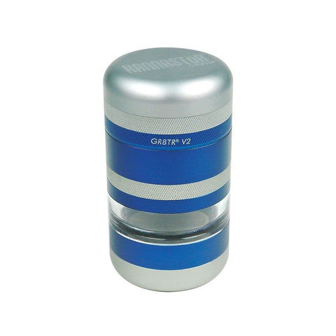 GR8TR V2 SERIES GRINDER- JAR BODY (MATTE BLUE) - High Grade Vape