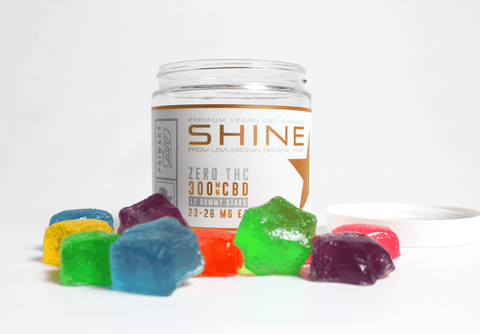 SHINE CBD GUMMIES - 300MG