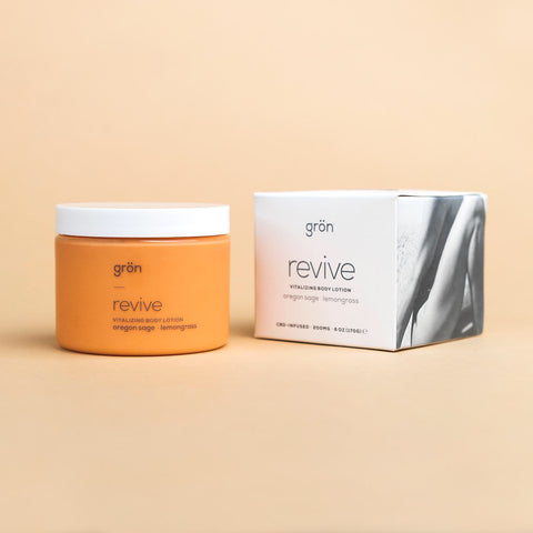 REVIVE: VITALIZING BODY LOTION - 200MG CBD