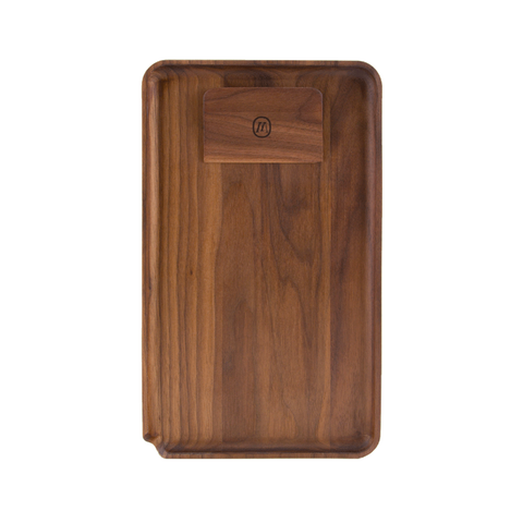 AMERICAN BLACK WALNUT ROLLING TRAY - LARGE