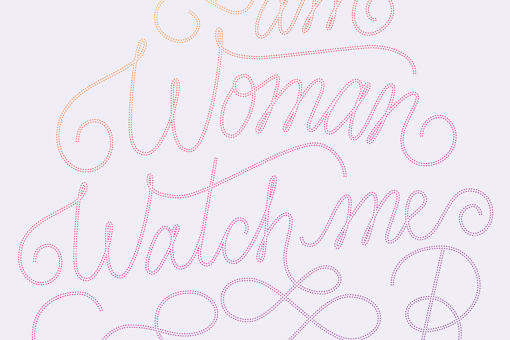 """I am Woman, Watch Me Soar"" print - Lovely"