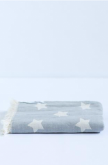 Oteki Star Towel - Light Grey