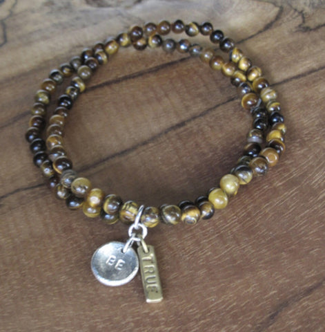 Tigers Eye Bracelet Set