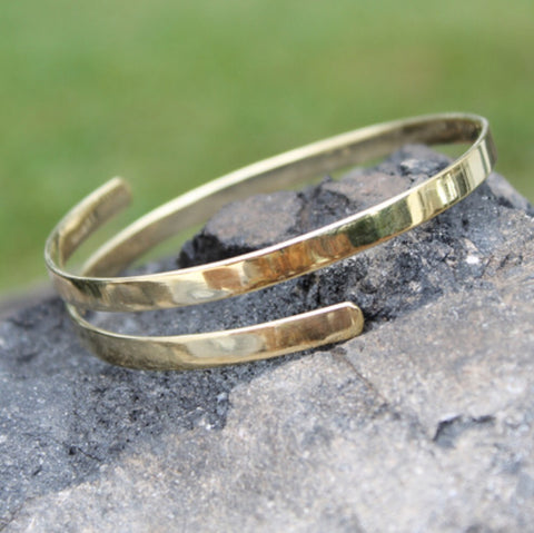Seek Bracelet - Brass