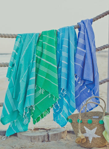 Traditional Turkish Towels - Set of 3 (Please note Price PER TOWEL is 90 AED)