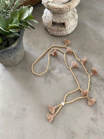 Tassel Necklace - Single Strand