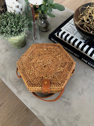 Hexagon Paddington Bag