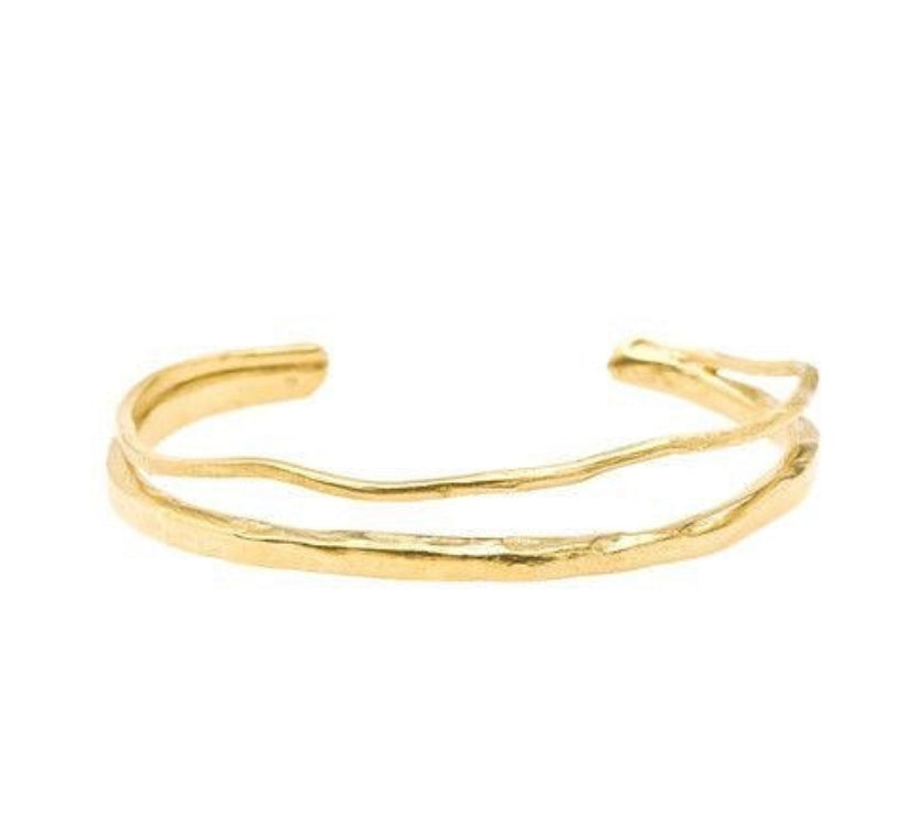 Heather Cuff - Brass
