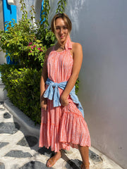 Florence Dress - Coral Moon