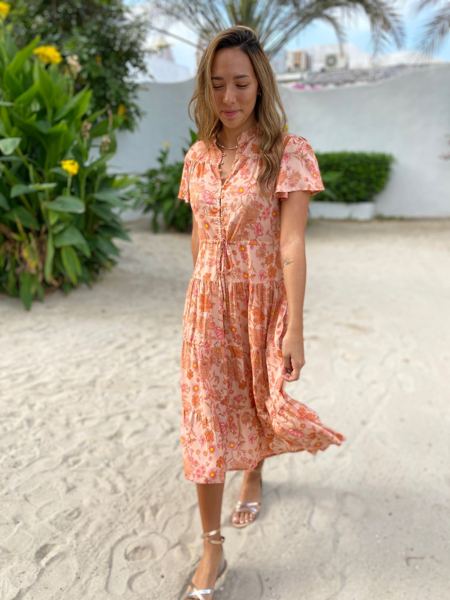 Jess Dress - Sunday Flower