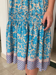 Hattie Dress - Blue