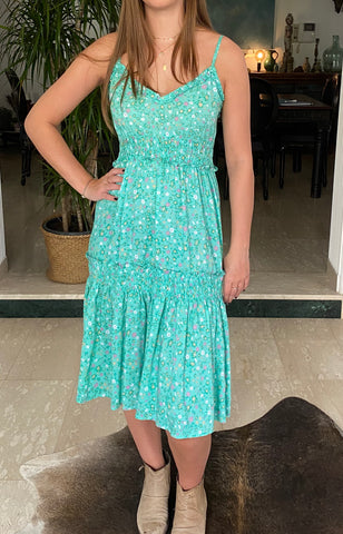 Hattie Dress - Mint