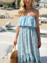 Roxy Dress - Baby Blue